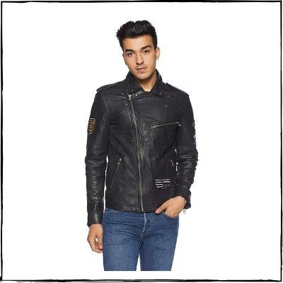 Jack-Jones-Leather-Jacket