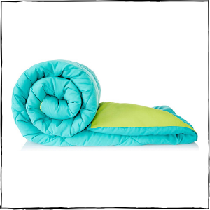 Amazon-Brand-–-Solimo-Microfibre-Reversible-Comforter-Double-Aqua-Blue-Olive-Green-–-Best-Overall-Blanket