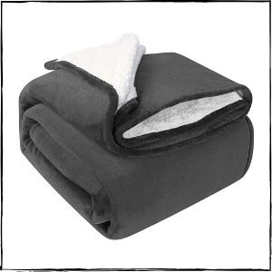 Utopia-Bedding-Sherpa-Bed-Blanket-Queen-Size-–-Best-Textured-Blanket