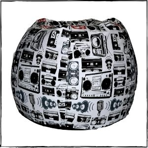 Comfy-Bean-Bags-–-ComfyBean-Printed-XXXL-Bean-Bag-Without-Fillers-Cover