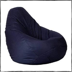 CaddyFull-Large-Bean-Bag-Cover-Blue-Without-Bean