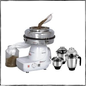 Cookwell Instagrind Mini Flour Mill with Mixer Grinder