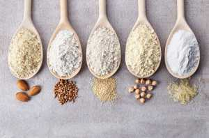 What are the different types of flour
