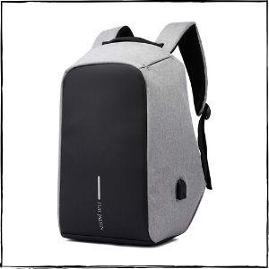 Fur-Jaden-15-Litres-Grey-Anti-Theft-Waterproof-Backpack